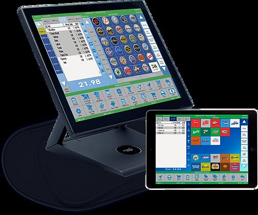 bar pos system monitor tablet