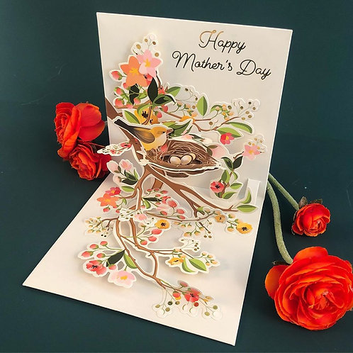 Mothers Day Pop Out Greeting Card
