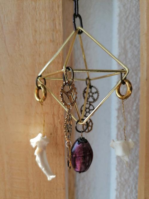 Steampunk and Bones Hanger