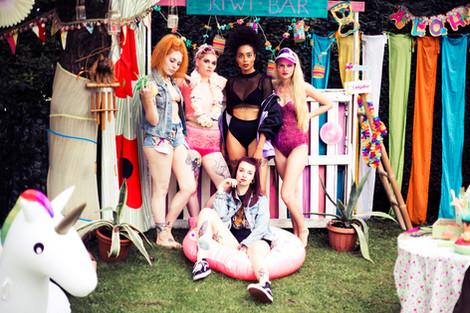 Retro Summer Party Projekt