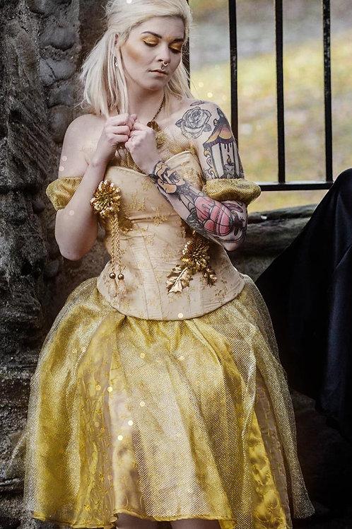 "Goldenes Kleid ""Gold Marie"""