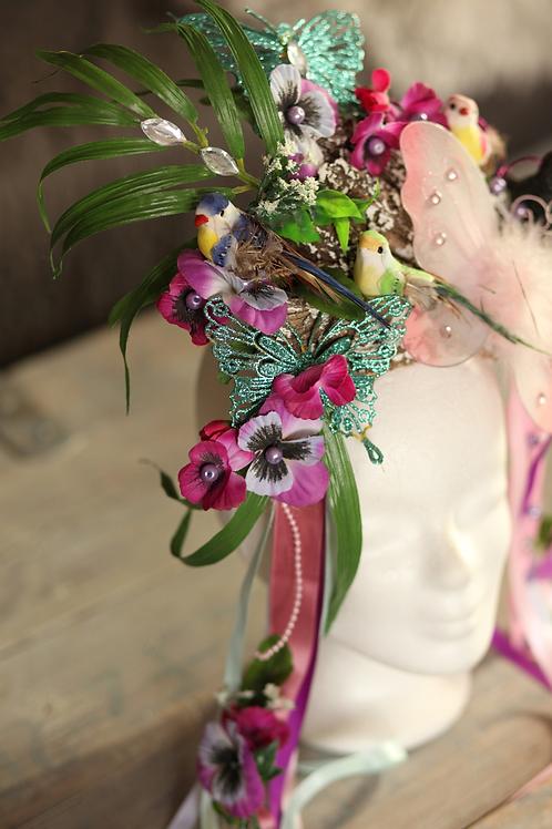 Paradise Birdie Headpiece