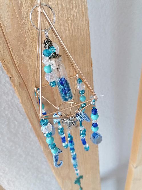 """Shiny Hanger """"Ocean Breeze"""""""