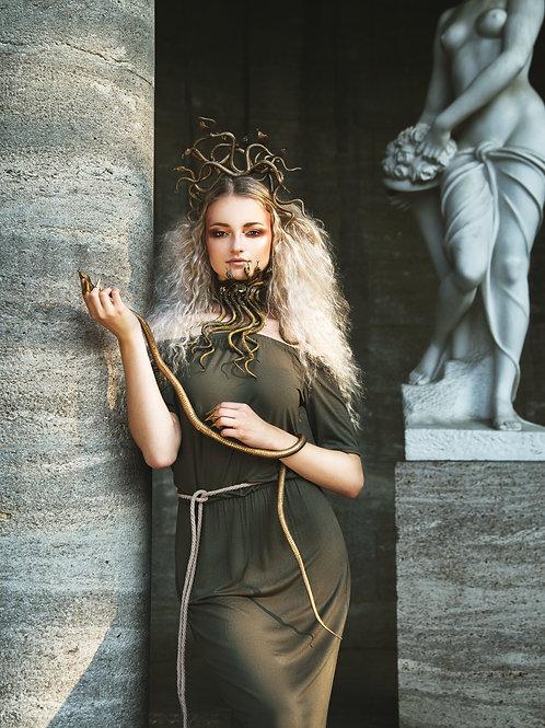 Medusa Accessoires Collier und Haarreif
