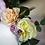 Thumbnail: Frühlingsblumen Headpice mit Hörnern