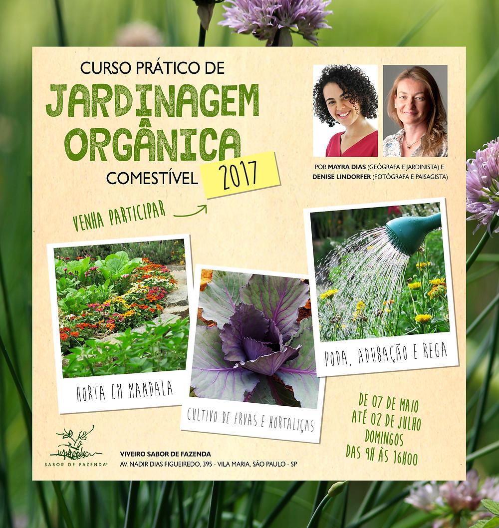 curso de jardinagem orgânica