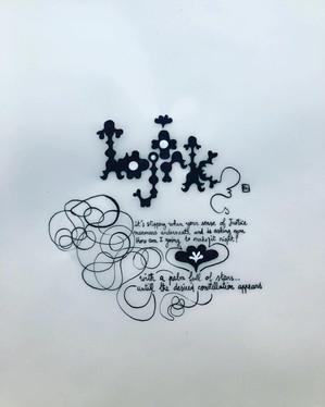 """Desired constellation"", Björk"