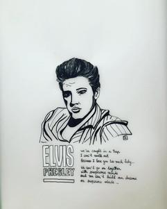 """""""Suspicious minds"""", Elvis pour le thème"""