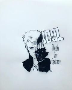 """Flesh for fantasy"", Billy Idol"