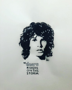 """""""Riders on the storm"""", The Doors pour le"""