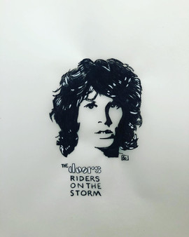 """Riders on the storm"", The Doors pour le"