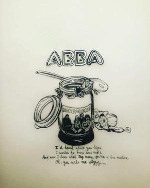 """""""Honey honey"""", Abba pour le thème #dizzy"""