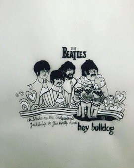 """Hey bulldog"", The Beatles"