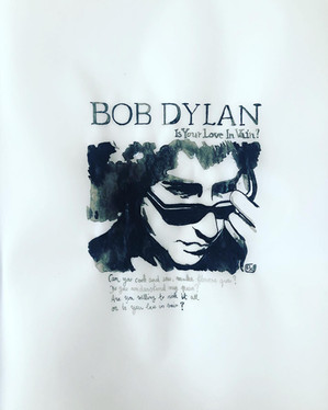 """""""Is your love in vain?"""", Bob Dylan"""