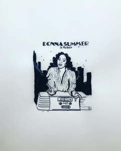 """On the radio"", Donna Summer"
