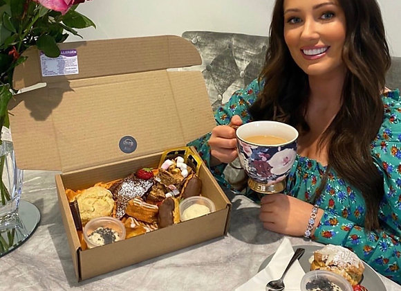 Mother's Day Afternoon Tea Box For 2           ** BALLYMONEY & COLERAINE ONLY **