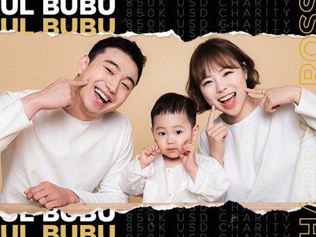 South Korea's Top Family Creator, Bgeul Bubu, Establishes a US$850,000 Social Charity Foundation