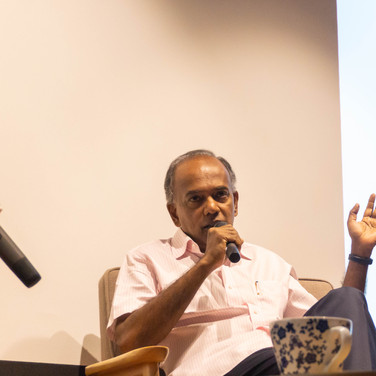 A Dialogue with Minister K. Shanmugan