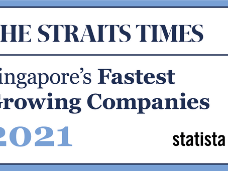 Singapore's fastest-growing companies in 2021