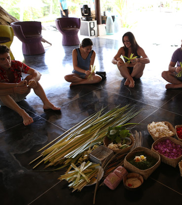 Learning How to Make Balinese Water Altar.JPG