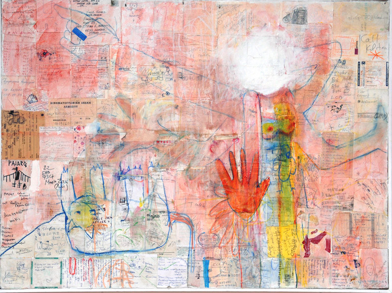 2008, she , out of her head, 100x70cm, m