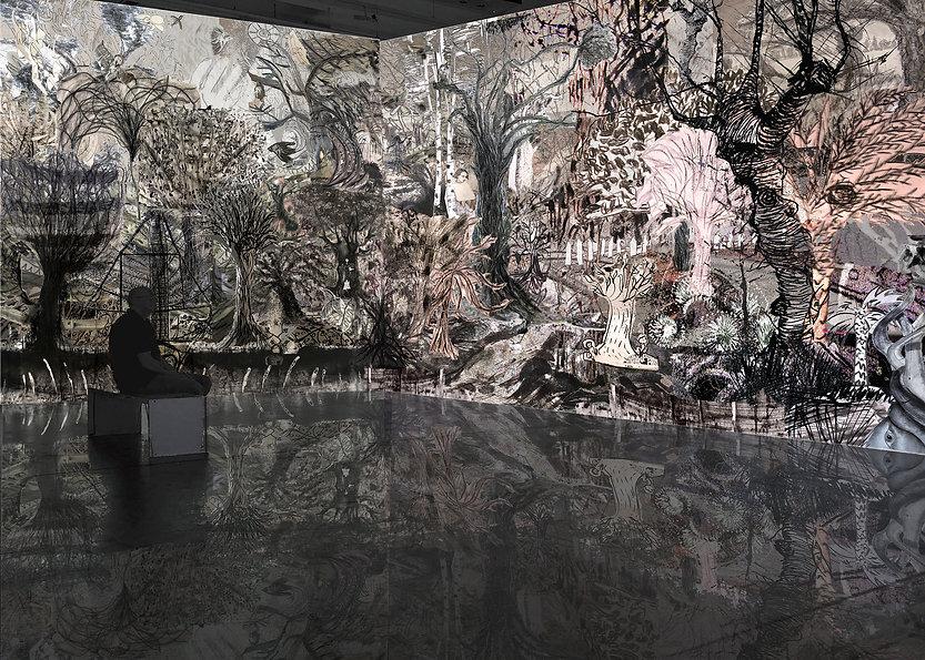 2 - Nina Sumarac, INdoor installation ex
