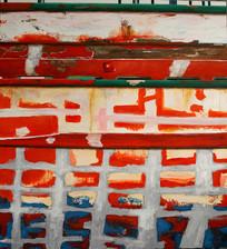 2002, untitled 25, 120x100cm, acryl on c