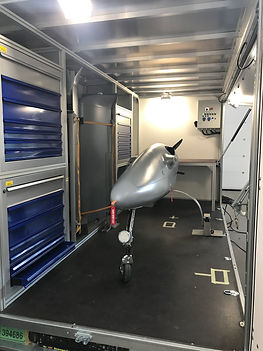 Logistics trailer for Tactical UAS and related equipment