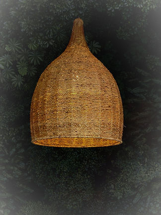 โคมไฟผักตบชวา