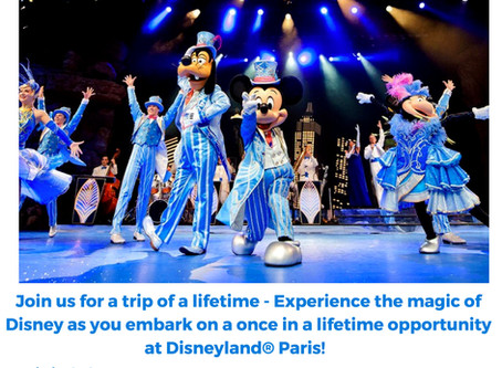 WHAM THEATRE SCHOOLS GO TO DISNEYLAND PARIS FOR AN EXCLUSIVE PERFORMING ARTS WORKSHOP!