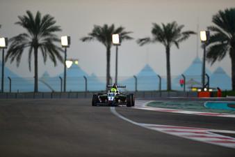 Young at the Yas Marina F1 Circuit in Abu Dhabi Dec 2017
