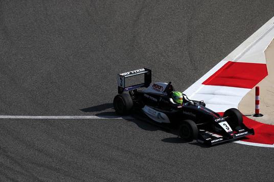 The infamous Turn 10 at the Bahrain Formula 1 Circuit Dec 2019