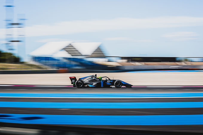 Dylan in action on the Paul Ricard F1 Circuit.jpg
