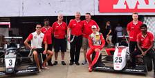 Dylan with team mate Mick Schumacher, son of Michael Schumacher Feb 2017