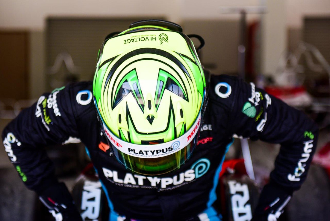 Suiting up ahead of qualifying Feb 2018