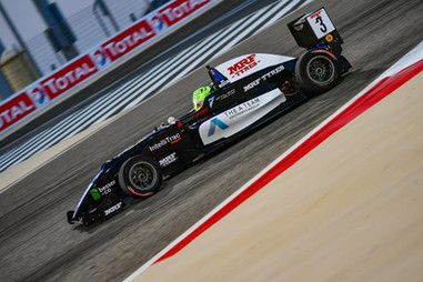 Young on track at Bahrain Dec 2019
