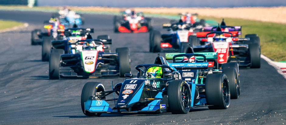 YOUNG JUST SHY OF THE PODIUM AFTER TOP 3 START IN MAGNY COURS