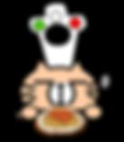 ニーナの台所 キャラクター パスタ イタリアン せんげん台