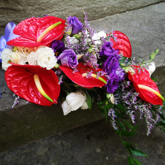 Veronica's bridal boquet