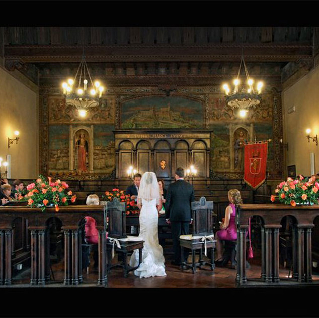 Town Hall Wedding