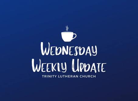 Wednesday Weekly Update 4/29/2020
