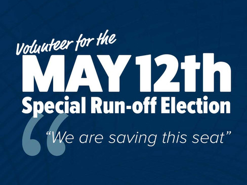 May 12th Special Election