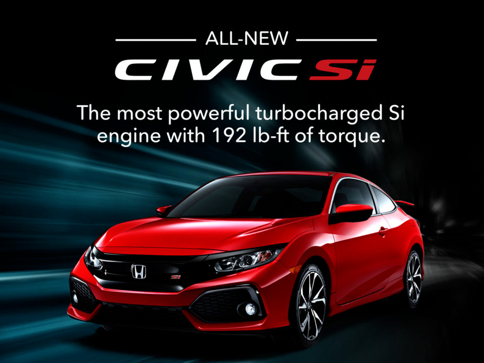 2017 Civic Si Video