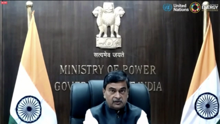 India's renewable energy capacity is the 4th largest in the world: Shri R K Singh
