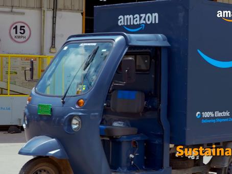 Amazon's progress towards a net-zero carbon footprint