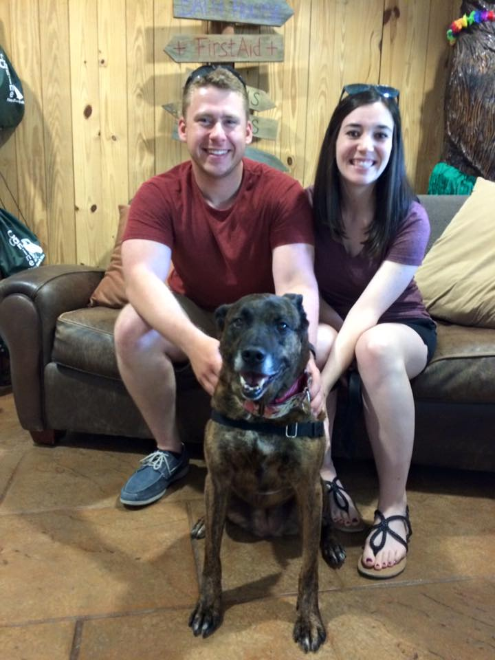 Kaylee and her new family!