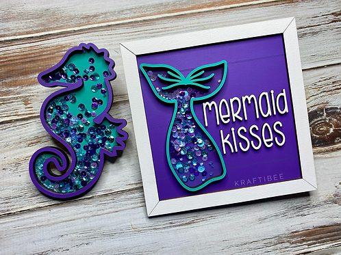 Mermaid Kisses Shakers