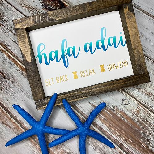 Hafa Adai Sign