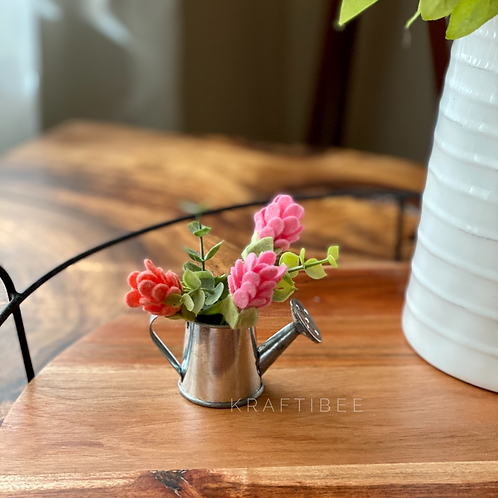 Mini Galvanized Watering Cans
