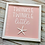 Thumbnail: Pink Twinkle Twinkle Little Star Sign